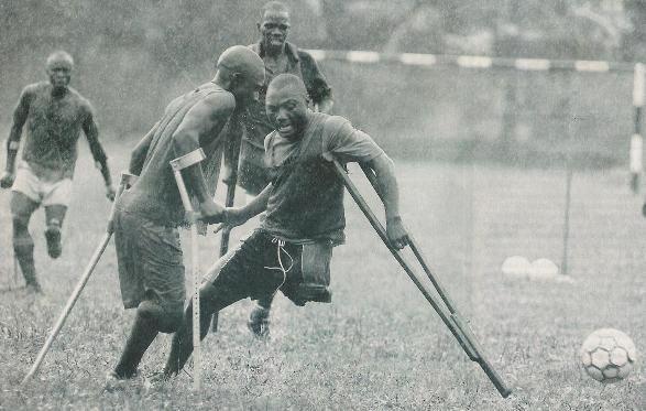 A força do futebol...