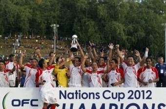 Taiti, o novo campeão da Oceânia
