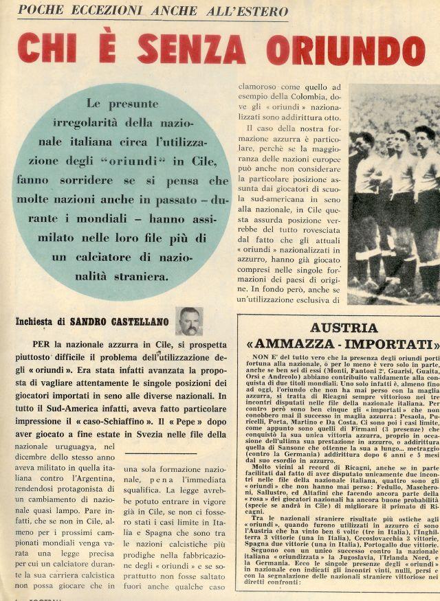 Itália - Naturalizados