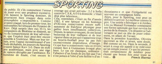 Sporting Onze 1983